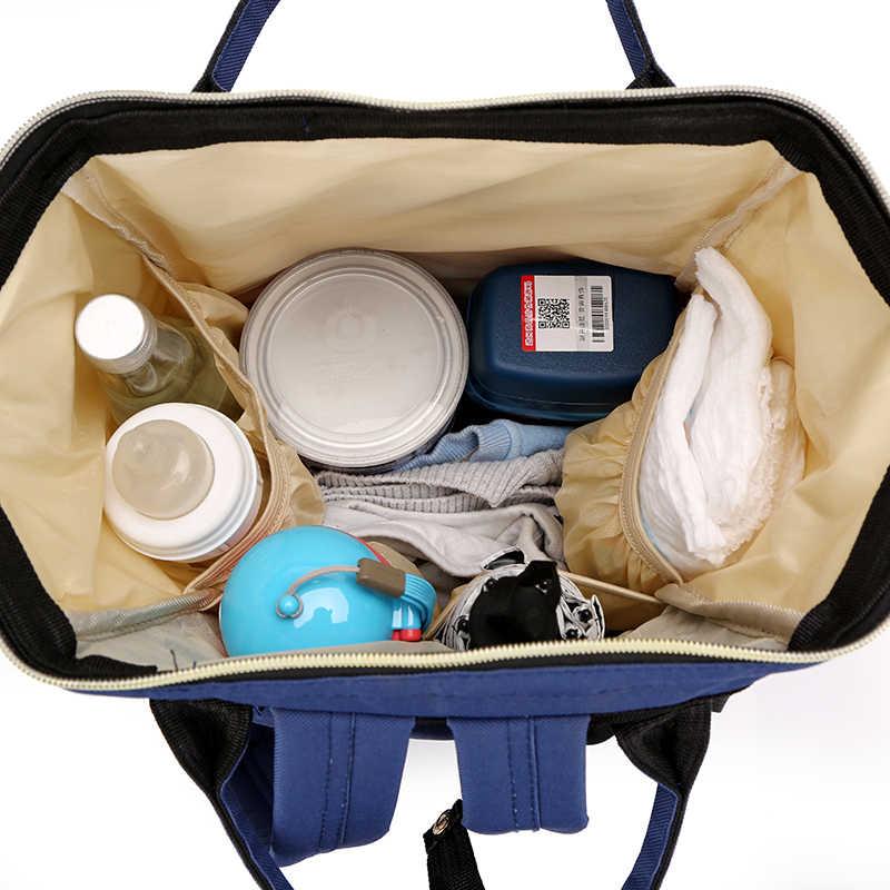 Grote Capaciteit Mummie Zak Moederschap Luiertas Rugzak Verpleging Tas Voor Baby Care Vrouwen Mode Tas