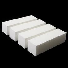 купить 10 Pcs/lot Nail Art Buffing File Block Pedicure Manicure Buffing Sanding Polish White Nail File Tips Pedicure Tool High Quality дешево