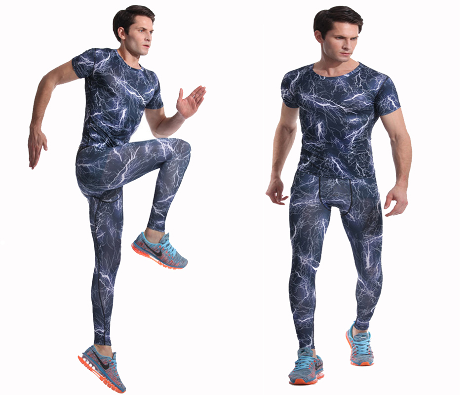 7012a8627749b 2019 Gym Men'S Running Fitness Sportswear Athletic Physical Training ...