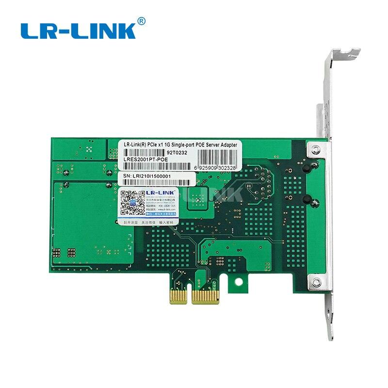 LR-LINK 2001PT-POE PoE+ Gigabit Ethernet Picture Frame Grabber PCI-Express Camera Video Capture Card RJ45  Intel I210 Nic