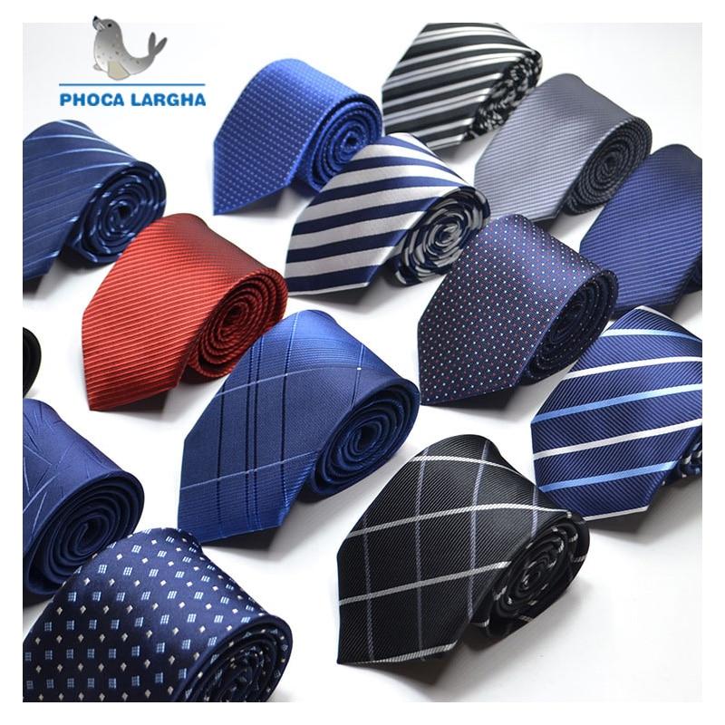 Men Ties Necktie Men's Vestidos Business Wedding Tie Male Dress Legame Gift Gravata England Stripes JACQUARD WOVEN 8cm