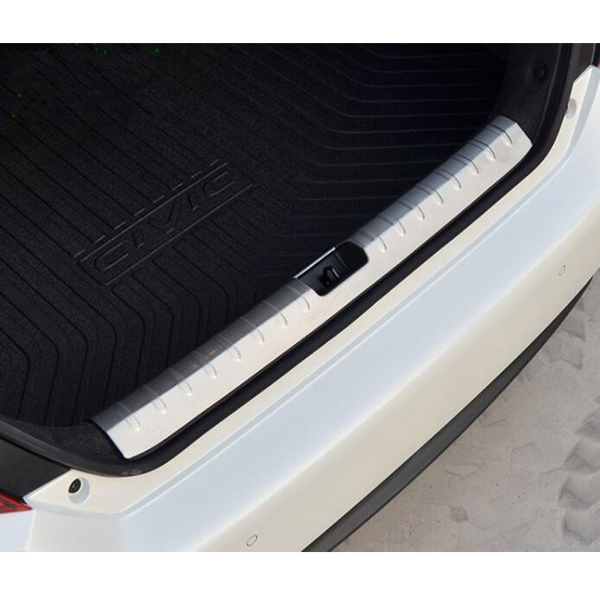Fit For Honda Civic 2016 2017 Stainless Steel Car Rear Trunk Cargo Protector Sill Plate Cover Trim Styling Auto Accessories