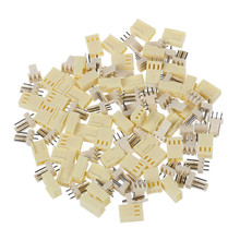 цена на 10 pcs KF2510-3P 2.54mm PCB header 3Pin connector Crimp Terminal Housing Pin Header Connectors Adaptor Kits