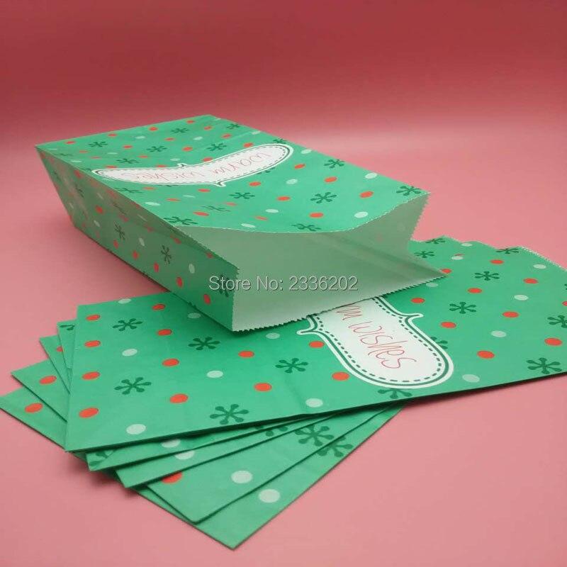 Christmas Gift Bags Diy.Disposable Food Packing Bag Diy Christmas Gift Bag Anit Oil