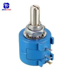 3590S-2-103L 10K Ohm precisión multigiro potenciómetro bobinado 10 vueltas resistencia ajustable