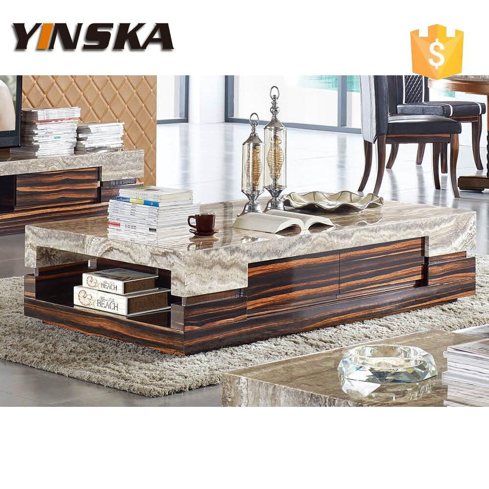 luxe italienne marbre table basse pour le salon meubles. Black Bedroom Furniture Sets. Home Design Ideas