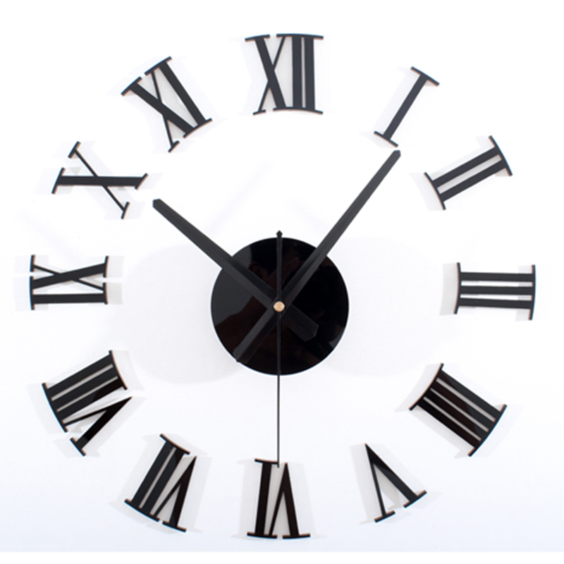 Large Black Wall Clock popular big clocks for kitchen-buy cheap big clocks for kitchen