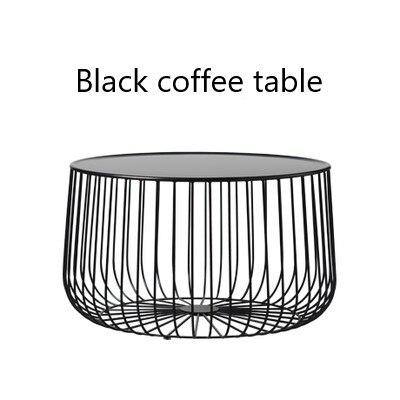 Скандинавский журнальный столик из металла небольшой квартире гостиная тыквы журнальный столик современный минималистский столик