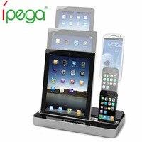 Ipega Pg-ip115 متعدد الوظائف شاحن محطة الإرساء رئيس لفون 4/5/7 لباد 2/3/4/مصغرة لسامسونج غالاكسي s2/s3