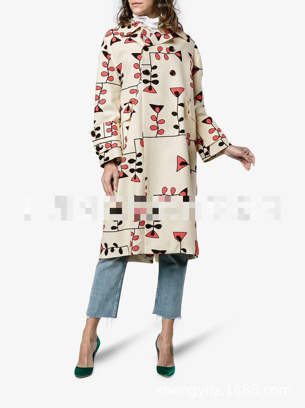 Long Femme Manches Poitrine Veste Manteau Toutes Manteaux Sélections Unique Picture zoux Imprimer Lâche D'hiver Pardessus Longues Laine As Dames Z De Les Femmes kZTiOXPu