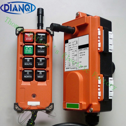F21-E1B Top quality industrial remote controller switches 1 transmitter + 1 receiver AC220V Hoist Crane Control Lift Crane nice uting ce fcc industrial wireless radio double speed f21 4d remote control 1 transmitter 1 receiver for crane