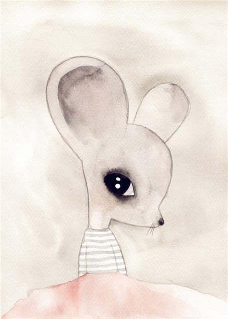 Kawai Aguas Animales Arte Cartel Impresiones Moderno