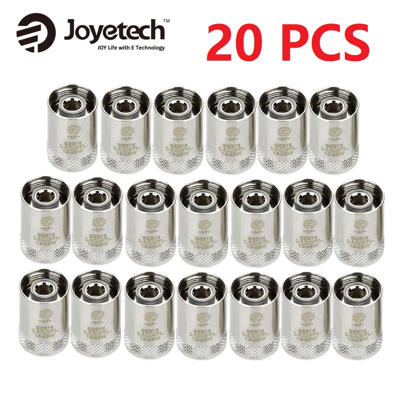 20pcs Original Joyetech CUBIS Coil EGO AIO Coil BF Replacement Coil SS316 Atomizer Head For CUBIS/ EGO AIO/ Cuboid Mini Atomizer