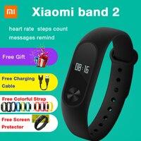 2017 Sale Top Fashion Original Mi Xiaomi Band 2 Smart Bracelet Wristband Miband Fitness Tracker Smartband