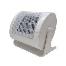 White Mini fan electric heater for study room Portable ceramic PTC Rapid heating Overheating Automatic Ceramic heater 220V 500W
