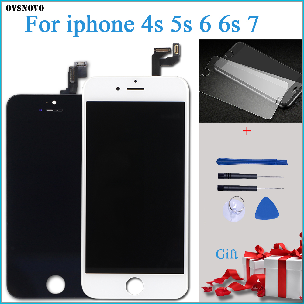 AAA LCD Display For iPhone 4s 5S 6 6S 7 Module Touch Screen Glass Digitizer Replacement For iphone 7 Repair LCD Screen AssemblyAAA LCD Display For iPhone 4s 5S 6 6S 7 Module Touch Screen Glass Digitizer Replacement For iphone 7 Repair LCD Screen Assembly