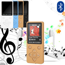 Reproductor Bluetooth 4,2 Bluetooth MP3 Mini sin pérdidas FM Radio Video portátil nuevo reproductor de música MP5 Walkman Envío Directo(China)
