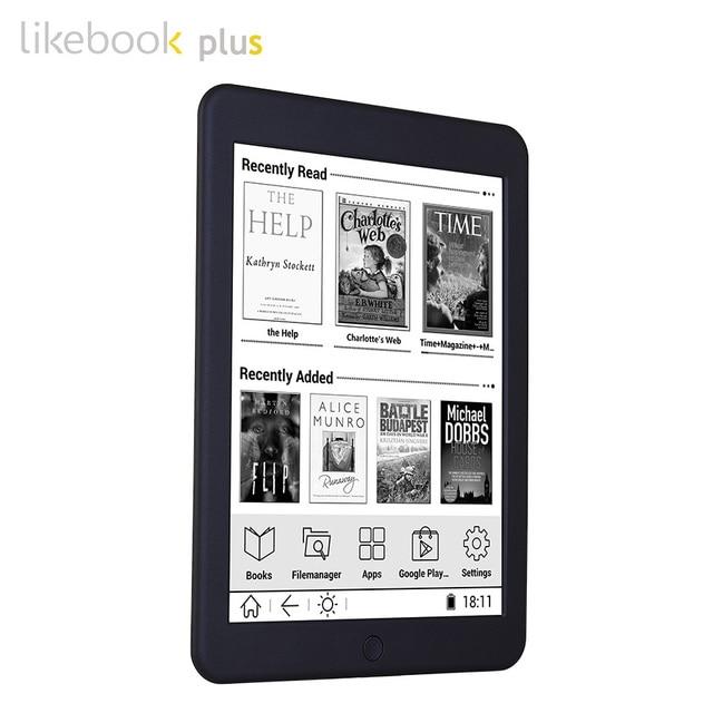 BOYUE Likebook Plus/Paper ebook reader 7.8 inch e-Reader 300PPI 1G/16G Touch ANDROID Bluetooth Backlight ebook ereader eink