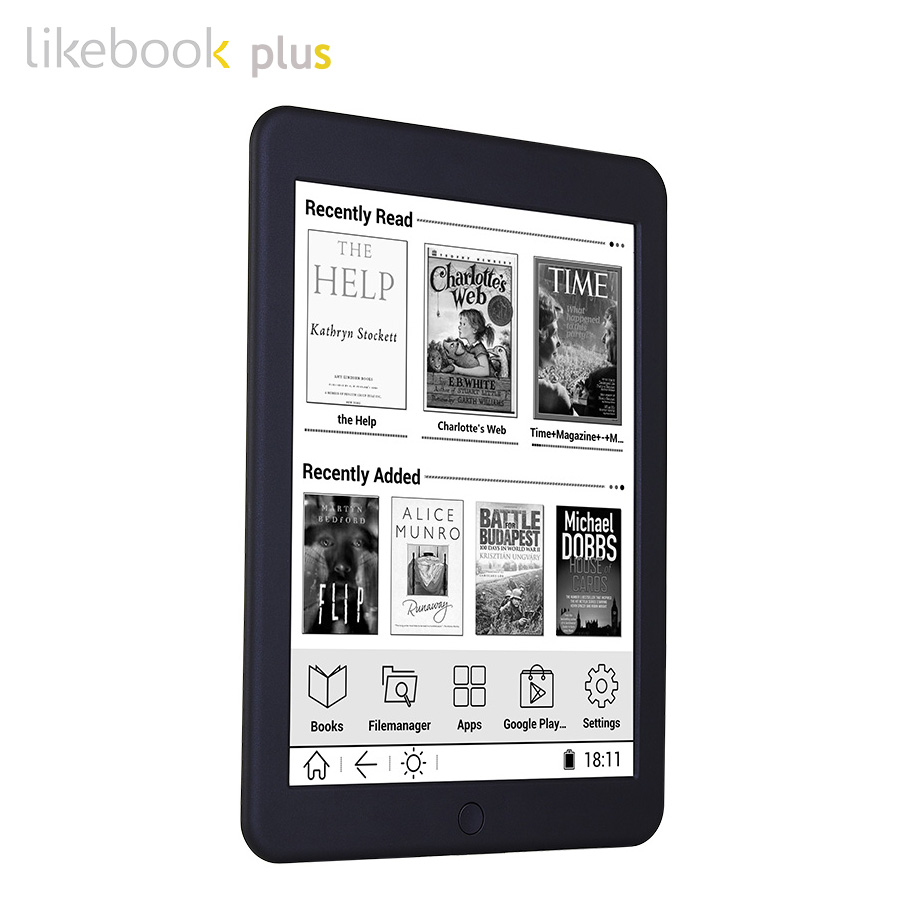 Ship From Russian BOYUE Likebook Plus/Paper ebook reader 7