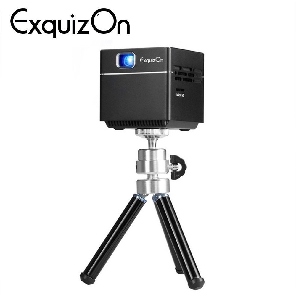 Buy exquizon s6 mini dlp pocket portable for Smart pocket projector