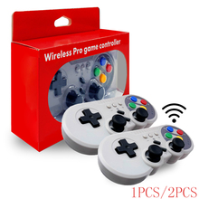 VIGRAND 1pc/2pcs Bluetooth Wireless Pro Controller Gamepad Joypad Remote for Nintend Switch Console Joystick Gift Boxes