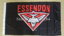 AFL Essendon Bombers Flag New 3x5ft 90x150cm Polyester Flag Banner 90001,  free shipping