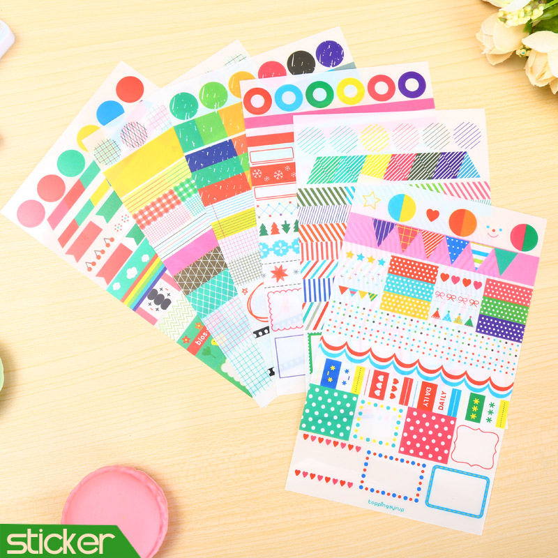 Buy 6 pcs lot rainbow colored paper for Diy colored paper