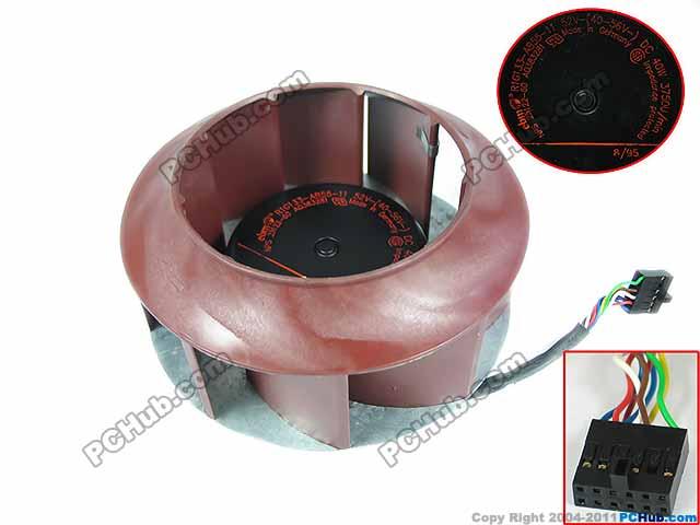цены ebm-papst R1G133-AB55-11 DC 52V 40W Server Round Fan