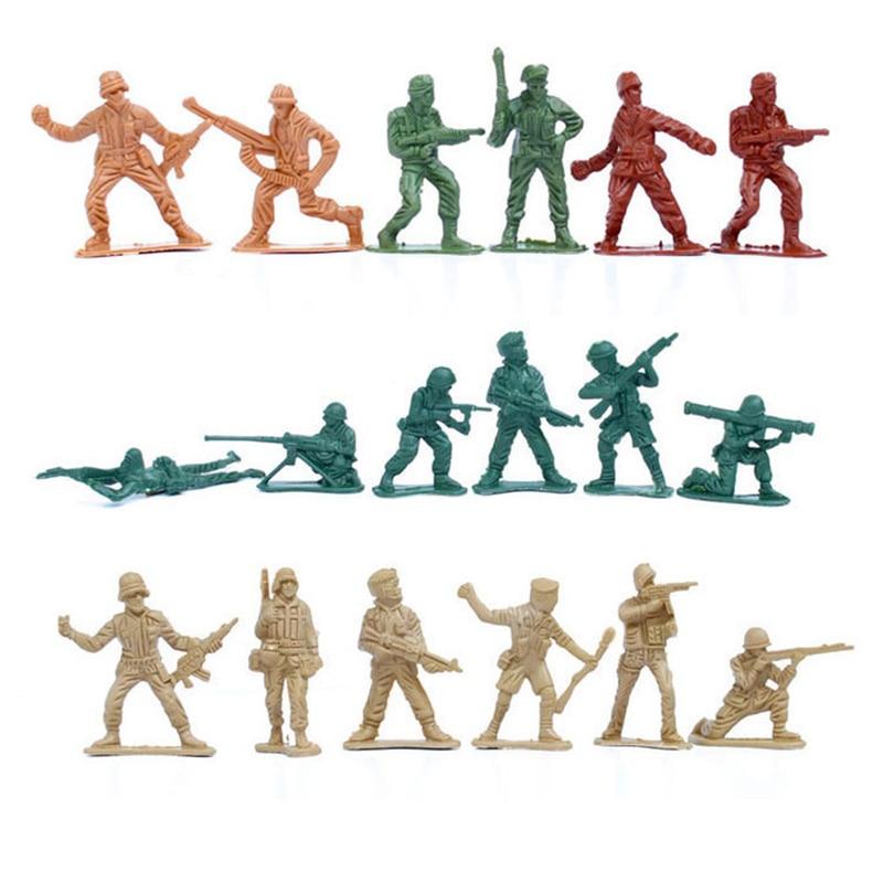 310 шт World WarII Военная пластиковая солдатская армейская Мужская фигурка и аксессуары игровой набор солдатская модель песочница игровая модел... - 5
