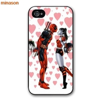 minason Movie Knife Deadpool hero Cover case for iphone 4 4s 5 5s 5c 6 6s 7 8 plus samsung galaxy S5 S6 Note 2 3 4 H2369