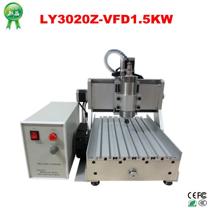 CNC 3020 Router Wood PCB engraving driling and milling machine with 1500w spindle motor , no tax to EU cnc router engraving machine diy 2520 4axis engraving drilling and milling machine with rotary axis no tax to ru