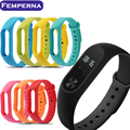 [In stock] Colorful Replace Belt for Xiaomi Miband 2 Strap Smart Wristband Silicone Strap For Xiaomi Mi Band 2 Strap Bracelet