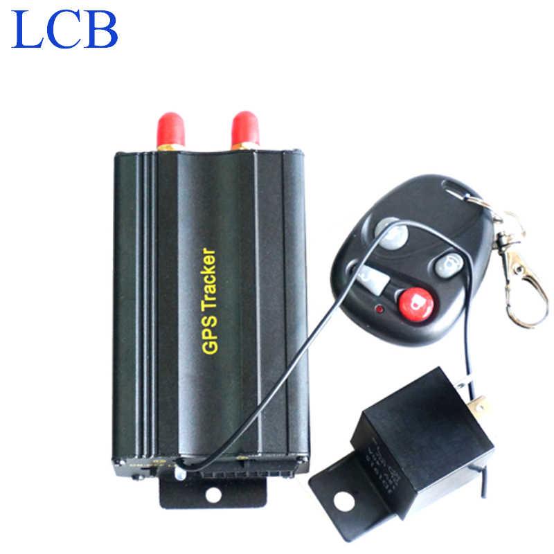 Бесплатная доставка, устройство для отслеживания автомобиля в реальном времени, gsm, gps-трекер для мотоцикла с дистанционным управлением, GPS 103B, TK103B, устройство для отслеживания автомобиля
