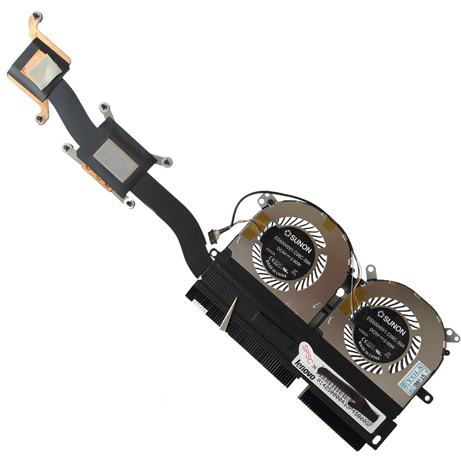 New Original CPU Cooling fan Heatsink For Lenovo ideapad YOGA 13 EG50040V1-C06C-S9A YOGA13 Cooler Radiators Cooling Fan new original for ibm lenovo thinkpad t400 cpu fan with heatsink 45n6144 45n6145 notebook cpu cooler cooling fan free shipping