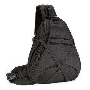 Мужские сумки большой емкости на одно плечо рюкзак нагрудная посылка 14 дюймов Сумка для ноутбука Высококачественная альпинистская сумка, д...