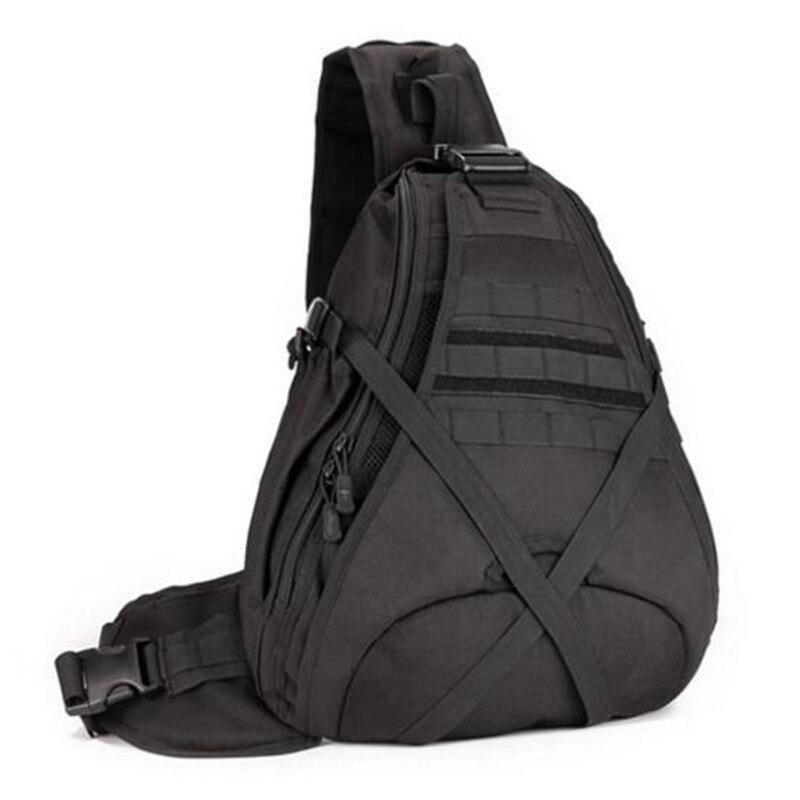 Homme sacs grande capacité une épaule sac à dos poitrine paquet 14 pouce ordinateur portable sac de haute qualité sac d'alpinisme, sac de voyage