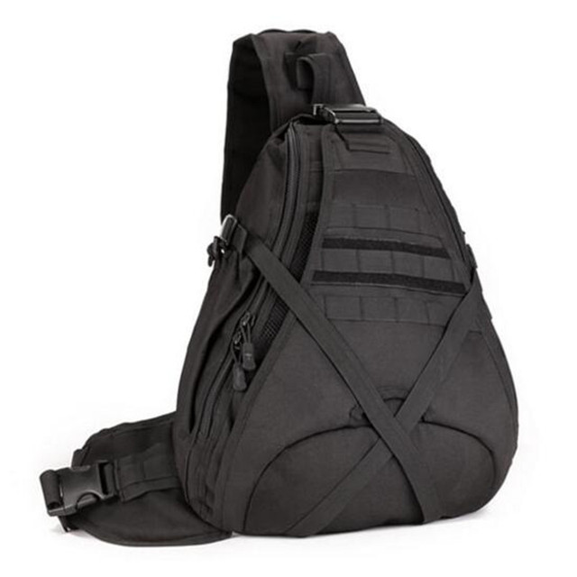 Men's bags large capacity one shoulder backpack chest package 14 inch laptop bag  high grade mountaineering bag, travel bag
