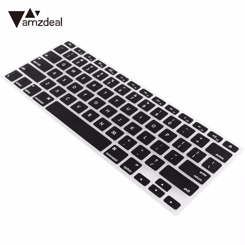 Hot item amzdeal soft silicone keyboard protector skin for mac