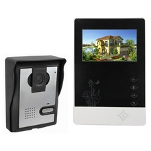 """4.3 """"kolor Wideo Telefon Drzwi dzwonek Do Drzwi Wideo Domofon Monitor Kit IR Night Vision Camera Dzwonek Do Drzwi do Mieszkania F4356A Domu"""