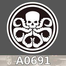 Bevle A0691 Marvel HYDRA Villain Team Waterproof Sticker Single Sale Cool Laptop Luggage Fridge Phone Graffiti