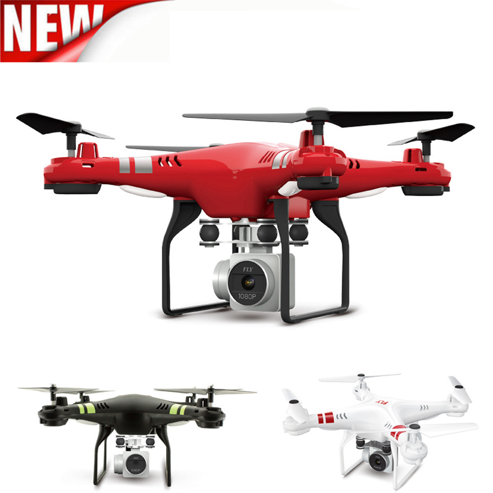 2.4G Altitude Hold HD Camera Quadcopter RC Drone WiFi FPV Live Helicopter Hover Education Toy Baby Toys & Games Children