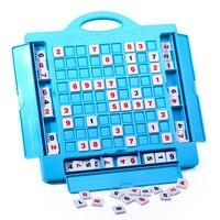 32 센치메터 스도쿠 큐브 번호 게임 스도쿠 퍼즐 아이 성인 수학 장난감