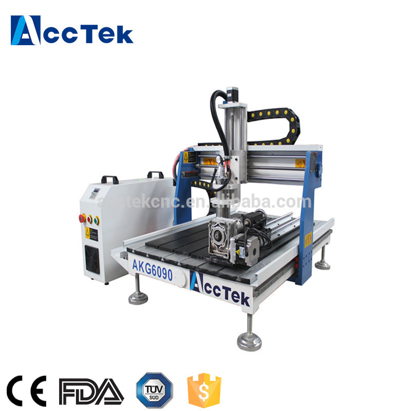 Fast Speed Mini Cnc Router 6090, Cnc Engraving Machine For Wood Stone Glass Metal Carving