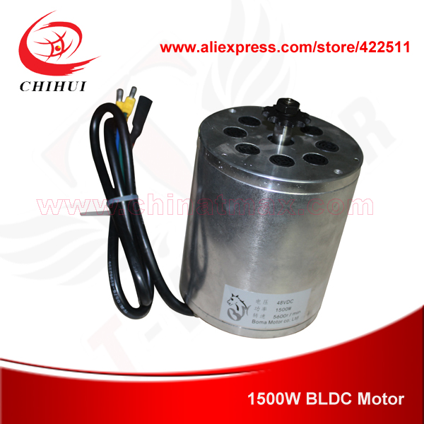 Image 2 - 1500W 48V Brushless Electric DC Motor 1500W Electric Scooter BLDC Motor BOMA Brushless Motor (Scooter Parts)-in Scooter Parts & Accessories from Sports & Entertainment