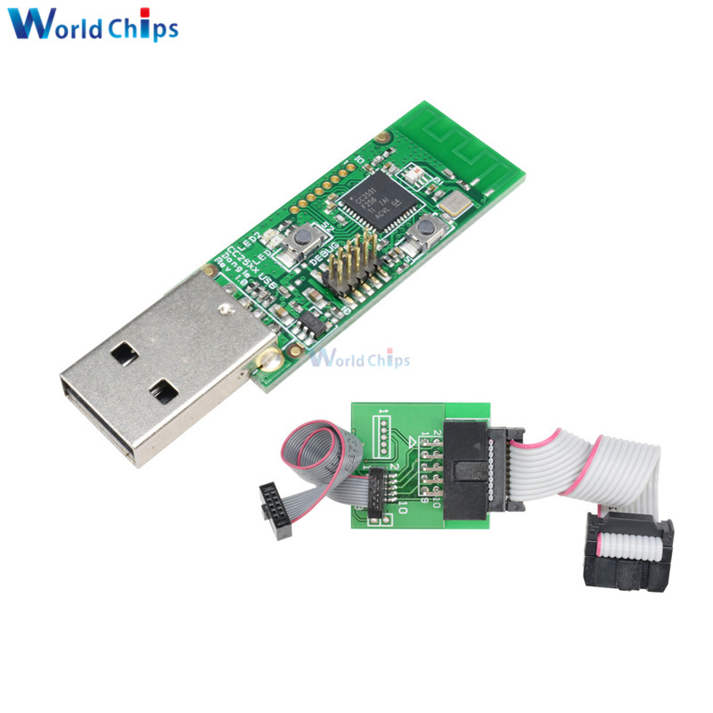 CC2540 Zigbee CC2531 Bare Board Packet Bluetooth 4.0 Sniffer Capture USB Protocol Analyzer For CC2650 Wireless Interface Dongle