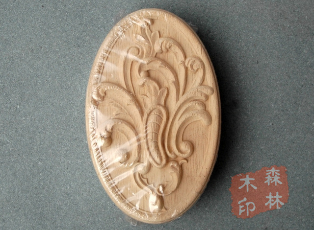 Legno mobili antichi dongyang scultura in legno ovale patch di