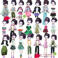 Factory wholesales 50sets/lot quality suit clothes dress for monster high doll for bratz doll