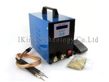 LCD ekran 18650 pil nokta kaynakçı makinesi Pedalı kumanda Kalem tipi El kaynak makinesi 220 V