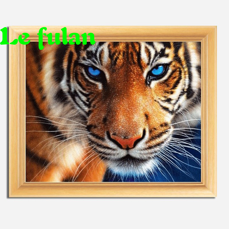 Full Diamond Embroidery Staring From The King Of Forest Diy Diamond Painting American-style Hobby Picture A Good Gift For Family