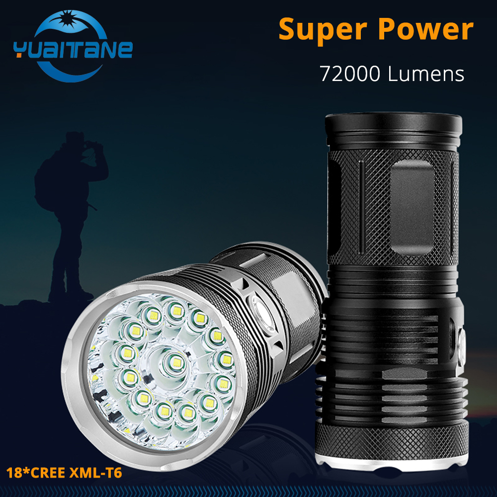Zamok Gryoz Powerbank Gu 5600mah Colorfull With Torch 72000lums High Powerful Led Flashlight 18 Cree Xml T6 Flash Light Waterproof Searchlight 418650 Battery Charge